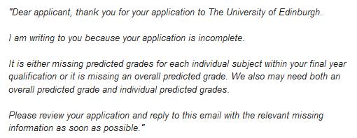 Grazie a un nostro gentile utente che ci ha fornito questa copia dell'email da lui ricevuta.